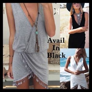 Other - ✨HUGE SALE✨ Black One Piece Dress/Cover-Up